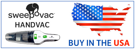 Buy in the USA Sweepovac Handvac