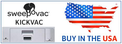 Buy in the USA Sweepovac Kickvac